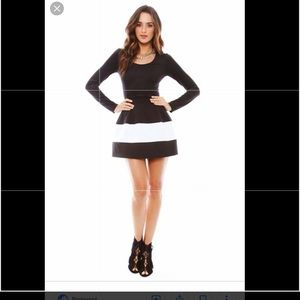 Boulee marylin long sleeve dress in 4